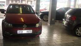 Pre owned 2014 Polo TSI 1.2 trend line