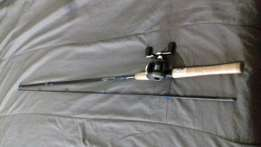Rovex oberon 6.6 spining rod meduim 2piece for sale with jarvis walke for sale  Newton Park