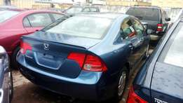 Super clean Honda civic 2008 model accident free Lagos cleared duty