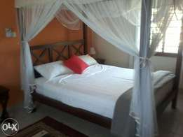 Nyali FurnishTwo units of two bedrooms apartments for short term rent