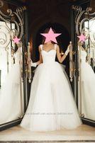 b3297af395ce3f Свадебное платье Blanka + пышная юбка с бантом Carrie. От Оксаны Мухи
