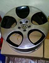 Polo GTi Replica Rims for sale. Am willing to sell individually at 750