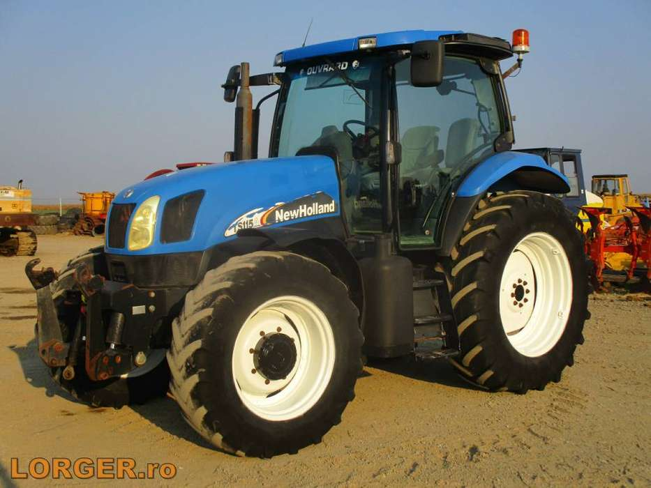 New Holland Ts 115 A - 2007 for sale - Specifications | Tradus