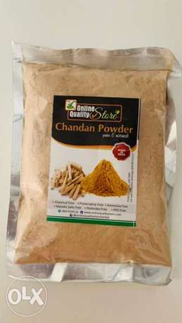 pure Chandan and pure yellow powder for face