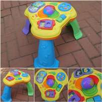 Activity table for toddler