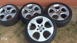 VW GOLF 5 GTI 17 inch mags for sale