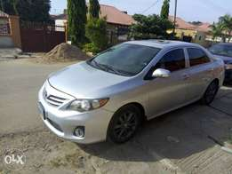 For sale A clean silver corolla 2010 model with complete papers abuja.