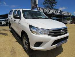 Toyota Hilux 2.4 GD-6 SRX 4 x4 - Low mileage