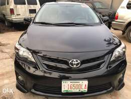 Very sharp and clean Toyota Corolla Sport 2012 model