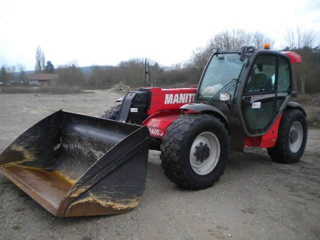 Manitou Mlt 735-120 Lsu Ps - 2013