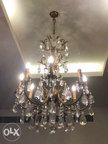 Beautiful Crystal Chandelier for Sale