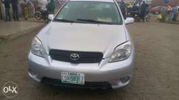 A very clean 2007 Toyota matrix is available for sale.