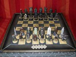 Lord of the Rings Collectors Chess Set
