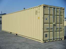 Container sales, rentals,and transportation in and around South Africa