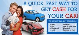 We buy cars for cash: Accident cars, Non runners