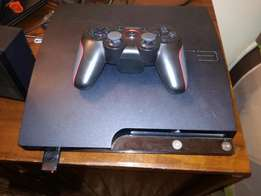 250 GB PS3 for sale with game data
