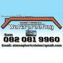 Waterproofing & repairs to roofs