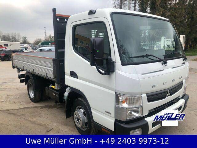 Fuso Canter mit Kipper 3280 x 2100 x 400 mm - 2019