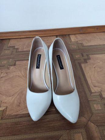 301d2ce2ab3d80 Весільні туфлі жіночі білі натуральні шкіряні Тернопіль - зображення 1