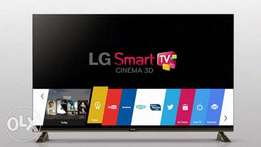 New LG 49inch Smart digital TV with free to air channels