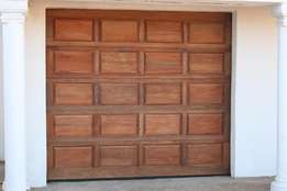 Garage doors installations + motor