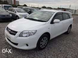 New Arrival, Neat White FIELDER, 1500cc, 2wd, 2010. Only Kes 986,700