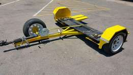 New car tow Piggyback trailer