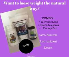 100% Natural weight loss products
