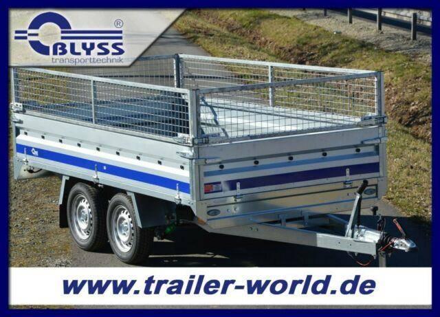Blyss PKW Anhänger 304x160x78cm Hochlader 1500 kg GG