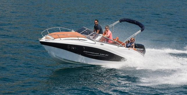Nowa łódź Motorowa Barracuda 585 Day Cruiser7 Osobowamax