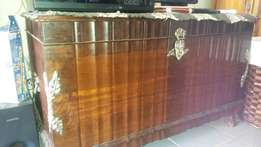 Antique Emboya wooden Truso