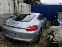 Porsche Cayman 2014 model low mileage Mint good duty PAID