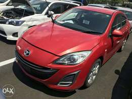 Mazda Axela Saloon red colour