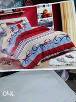 Bed spread and duvet with pillow cases
