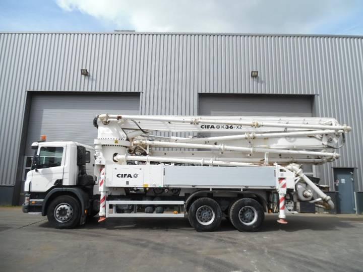 Scania P380 6x4 CIFA K 36 /XZ Concrete Pump 632 hours only! - 2010