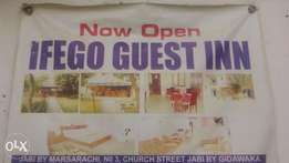 A manager needed in my guest inn at jabi, fct