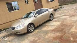 2007 Lexus ES 350 Toks with unique Mustard coat and thumbstart option