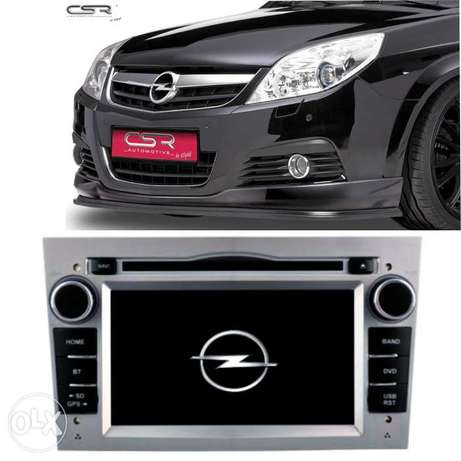 Dvd android 7 inch Opel Vectra C + camera