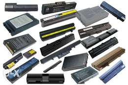 All kinds of laptop batteries