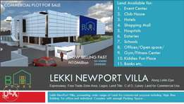 Commercial Plots With C of O For Sale Along Lekki Free Trade Zone