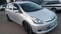 Toyota wish fully loaded