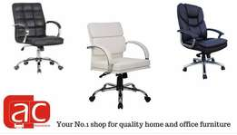 Quality office chairs, discount on purchase