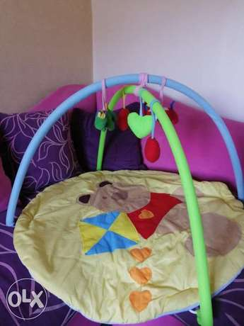 Play mat for baby.. Soft toys