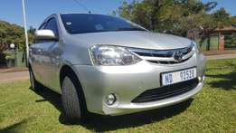 2013 Toyota Etios Hatchback - low mileage