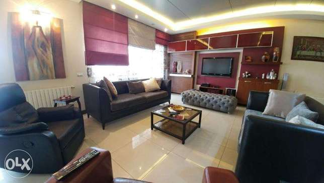 Ballouneh 330m2 - fully furnished - high end - sea view -