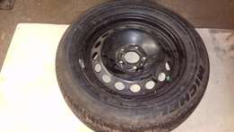 x Volvo S80 Steel Rim with new Michelen tyre for sale