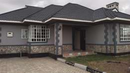 3 bedroom bungalow house for sale in kitengela:8.1m