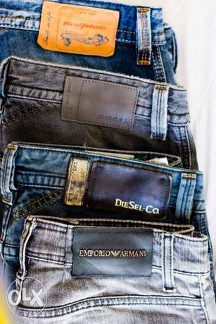 Diesel and Emporio Armani Jeans