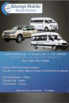 Shuttle services at your door step