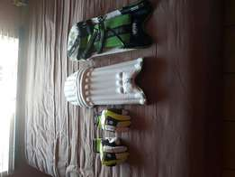 Kookaburra cricket gloves and pads for sale
